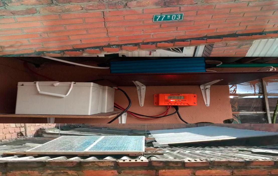 La Tienda TODOBARATODO instala sistema fotovoltaico en Kennedy, Bogotá.