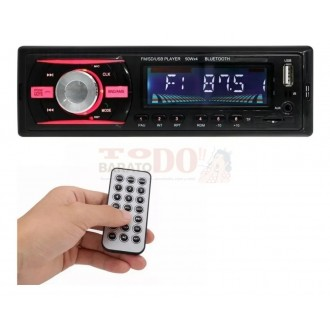 Radio Para Carro Bluetooth Usb Micro...