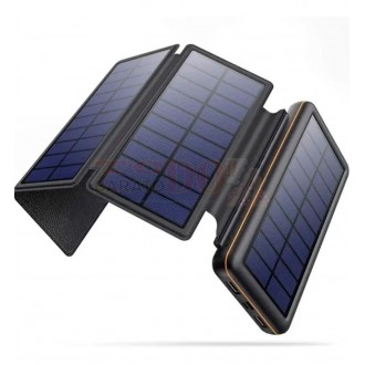 Cargador Solar Power Bank 20000 Mah 4...
