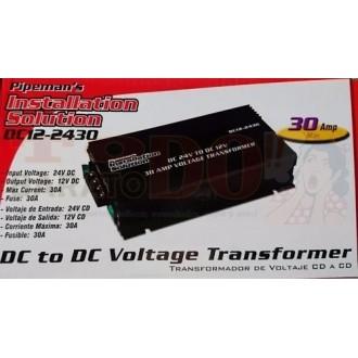 Convertidor 24v Dc A 12v Dc 30...