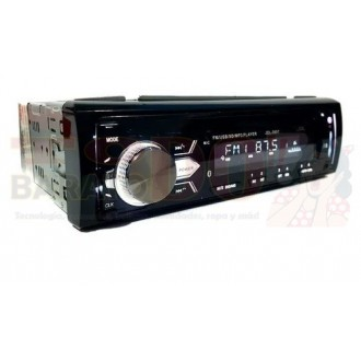 Radio Para Carro Con Bluetooth Usb Sd...