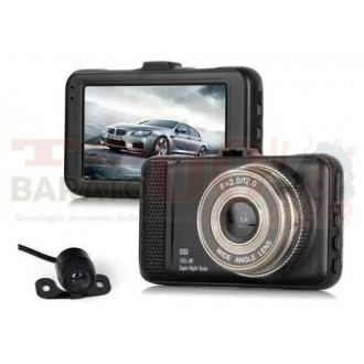 Cámara Dual Carro Dvr 1080p Full Hd...