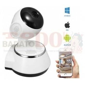 Cámara Ip Wifi Robot Seguridad 360°...