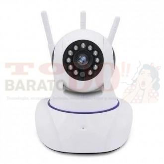 Camara Ip 3 Antenas Wifi Vision...