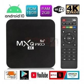 Mini Tv Box 4k 16gb Ram 2gb 5G Quad...