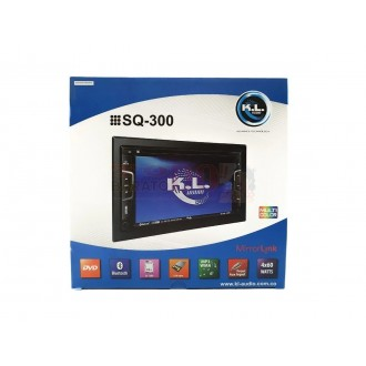 "Radio KL SQ-300 Pantalla 6.5"" Cd Usb..."