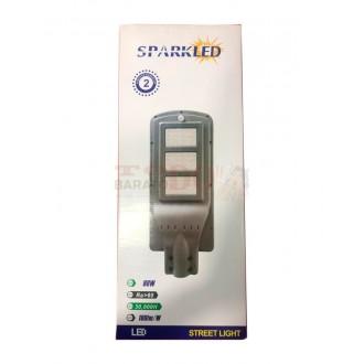 Lampara Exterior Solar Led 90w Sensor...
