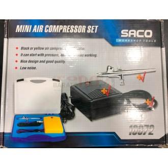 Kit Aerografo con Mini Compresor...