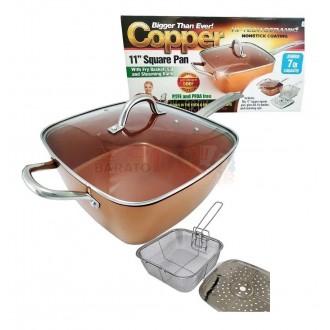 Sartén Cacerola Jumbo Copper Anti...