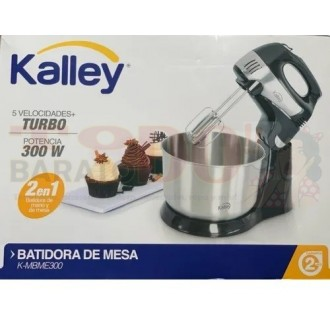 Batidora De Pedestal Kalley K-mbme300...