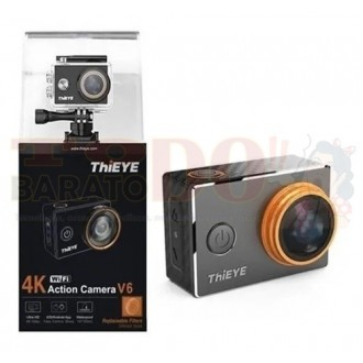 Cámara Deportes Thieye V6 Wifi 4 K Hd...