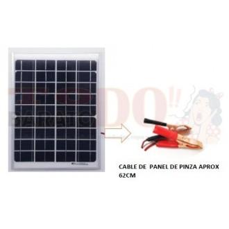 Panel Solar 10w / 18 Voltios con...