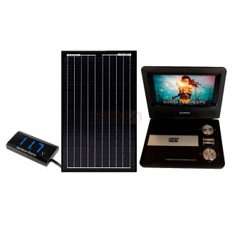 Tv Tdt Dvd Recargable Con Panel Solar...