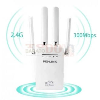 Repetidor Router Ap Wifi 300 Mbps...
