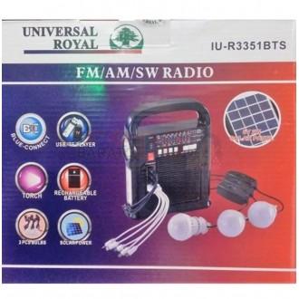 Radio parlante Universal Royal con...